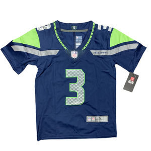 Youth Seahawks Russell Wilson #3 Shirt Jersey